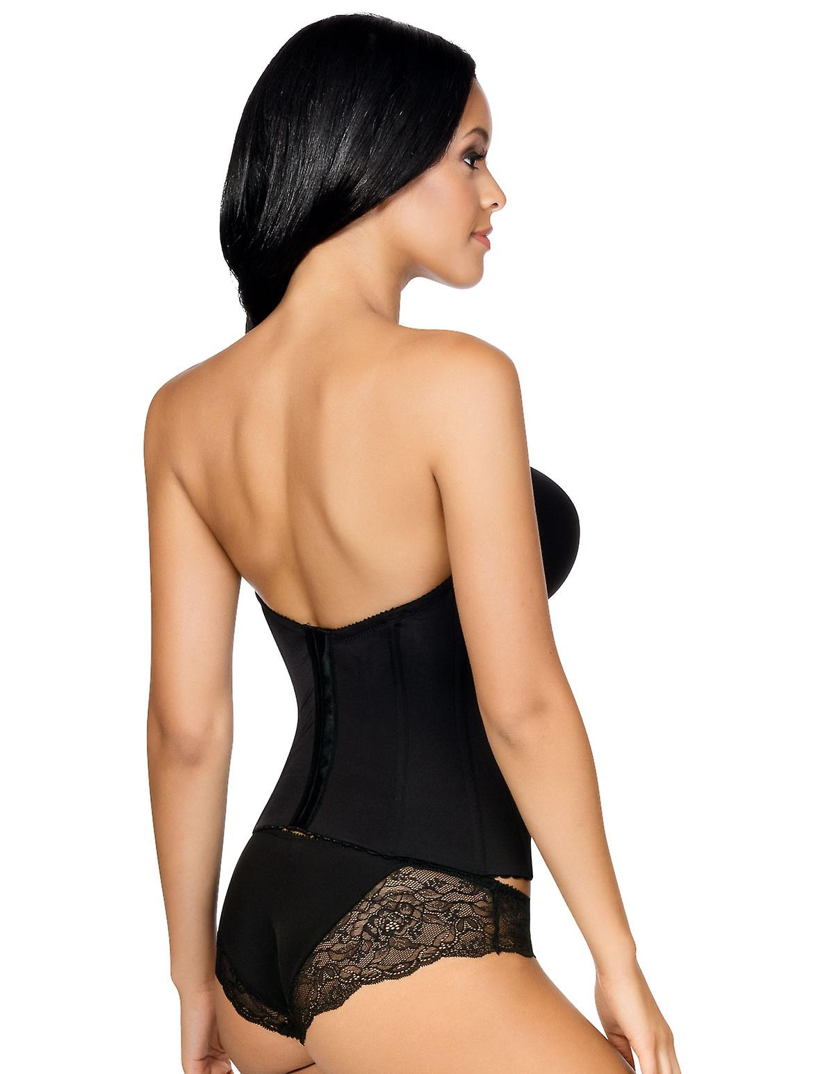 Lisa Strapless Low Back Bustier